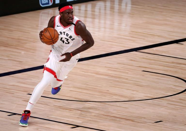 Florida-bound: Pascal Siakam and the Toronto Raptors will be based in Tampa for the start of the new NBA season