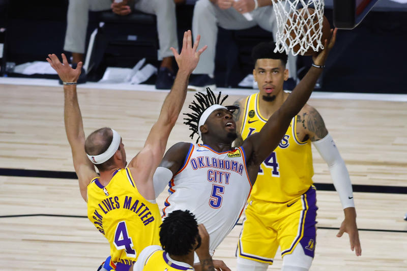 Nba Lakers Fall To 2 2 In Bubble With Loss To Thunder