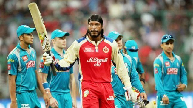 Chris Gayle created two records against Pune Warriors in 2013.