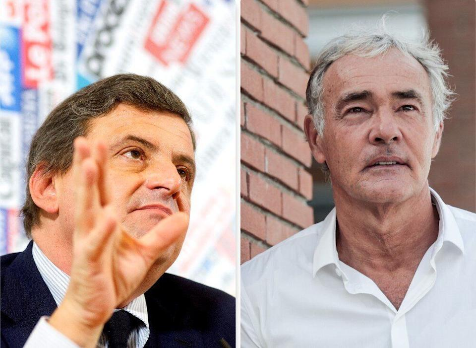 Calenda e Giletti (Photo: Agf)