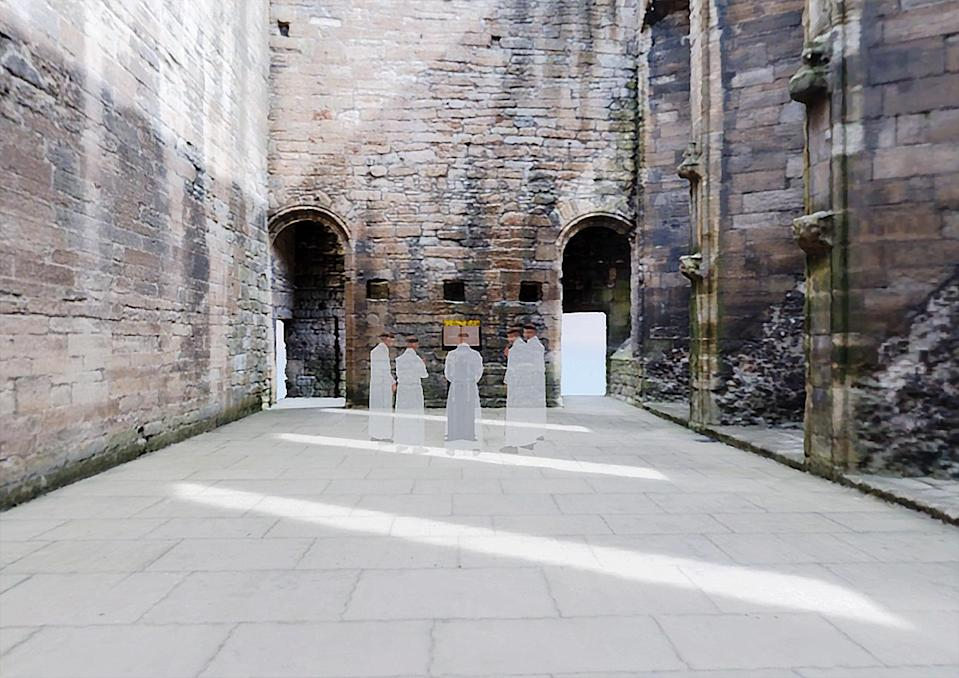 Chapel at Linlithgow Palace