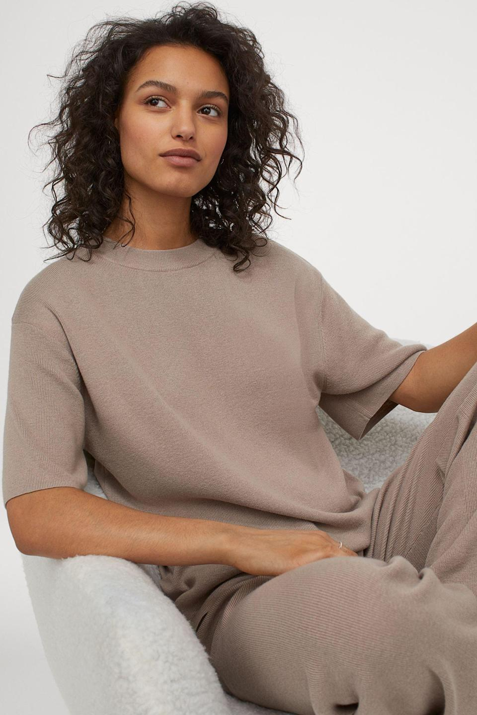 <p>This <span>Fine-knit T-shirt</span> ($25) is the answer to a lazy day.</p>