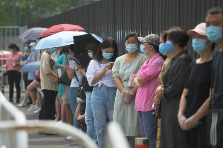 A new virus cluster has prompted fears of a resurgence of COVID-19 in China
