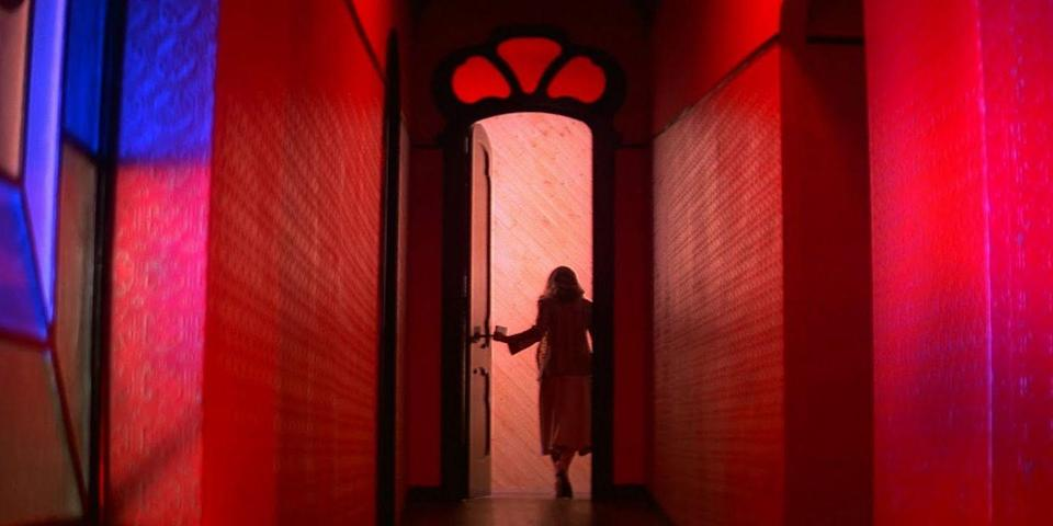 """<p>First in <em>giallo</em> pioneer Dario Argento's Three Mothers trilogy, <em>Suspiria</em> is a slasher Euro-horror about a ballerina who joins a dance company housing a coven of witches. Scary, sure. But it's the Technicolor gore, prog-rock score, and maggot infestation that crawls under your skin and jangle your nerves. <a class=""""link rapid-noclick-resp"""" href=""""https://www.amazon.com/Suspiria-Three-Limited-Jessica-Harper/dp/B00005LQ04?tag=syn-yahoo-20&ascsubtag=%5Bartid%7C10056.g.10247453%5Bsrc%7Cyahoo-us"""" rel=""""nofollow noopener"""" target=""""_blank"""" data-ylk=""""slk:Buy the DVD"""">Buy the DVD</a><br></p>"""