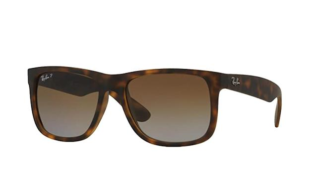 Ray-Ban unisex-adult 0RB4165 Rb4165 Justin Rectangular Sunglasses