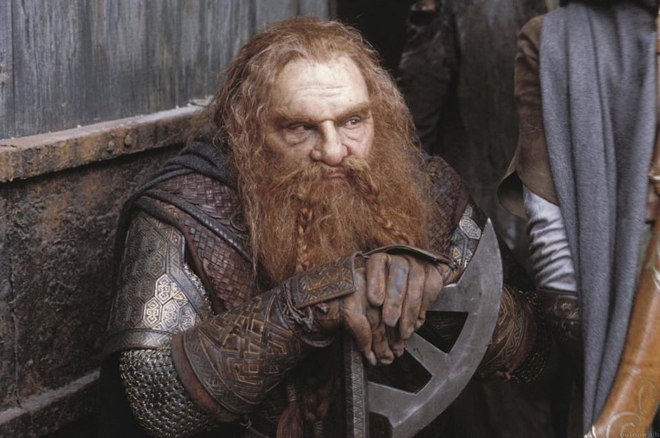 John Rhys-Davies as Gimlin in The Lord of the Rings: The Two Towers. (New Line/Warner Bros.)
