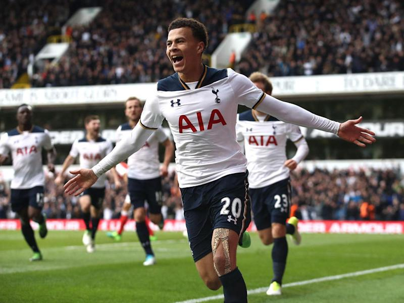 Alli broke the deadlock in the derby (Getty)