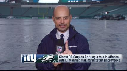 NFL Network reporter Mike Garafolo discusses what running back Saquon Barkley must do for the New York Giants to defeat the Philadelphia Eagles on Monday night in Week 14.