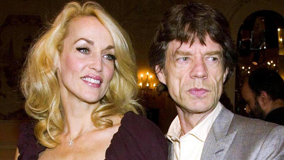 Mandatory Credit: Photo by RICHARD YOUNG/REX/Shutterstock (329291bd)JERRY HALL AND MICK JAGGERTHE EVENING STANDARD THEATRE AWARDS, LONDON, BRITAIN - 2000.