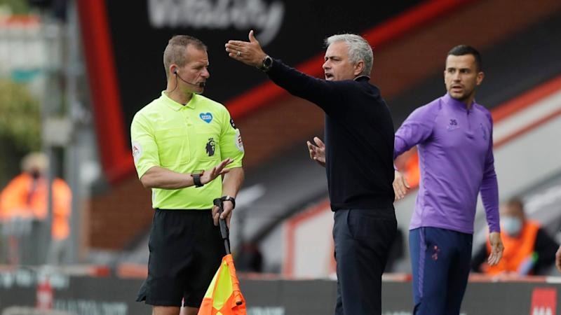 More Spurs VAR misery: Mourinho fumes at 'you know who'