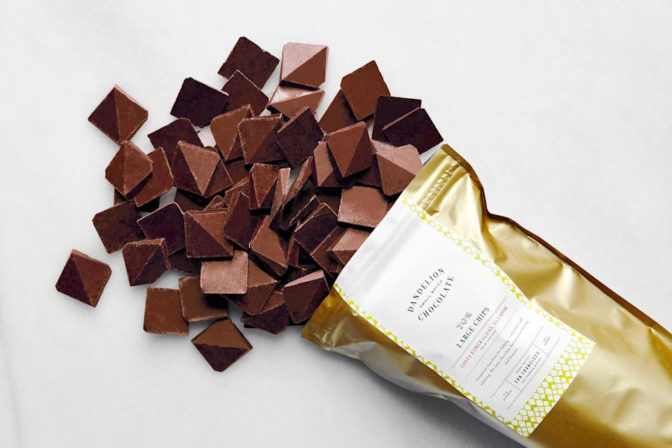 Pyramids are multifaceted chocolate perfection.