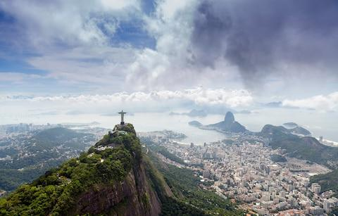 Corocavado the Christ and the Sugar Loaf - Credit: Getty