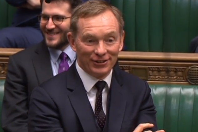Welsh parliamentarian Chris Bryant is also vying for the role (Parliament Live TV)