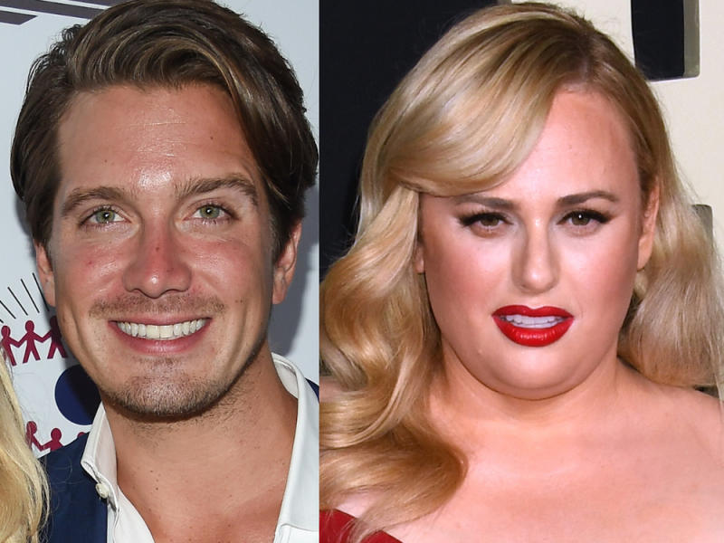 Jacob Busch und Rebel Wilson (Bild: DFree/shutterstock.com; Featureflash Photo Agency/shutterstock.com [M])