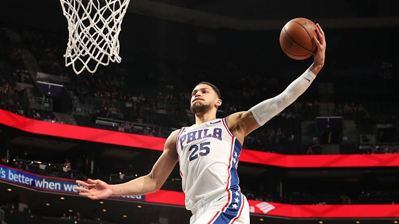 Ben Simmons. Pic: Getty