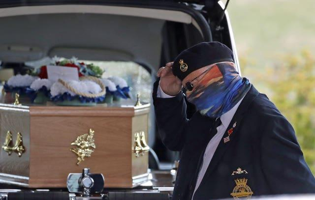 Anthony Parsons funeral