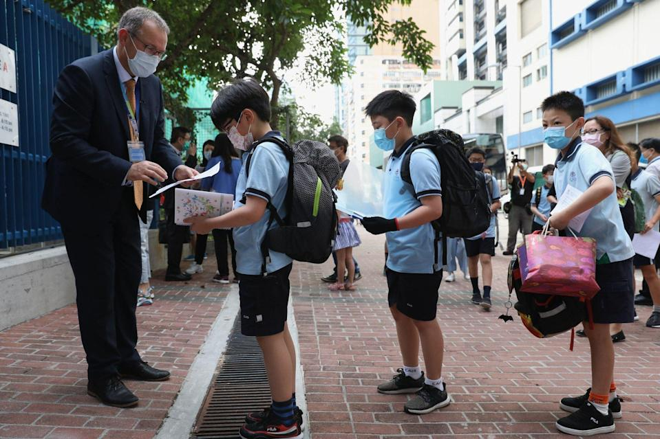Richard Vanderpyl, head of school at the Christian Alliance International School, said parents had largely supported it raising fees. Photo Nora Tam