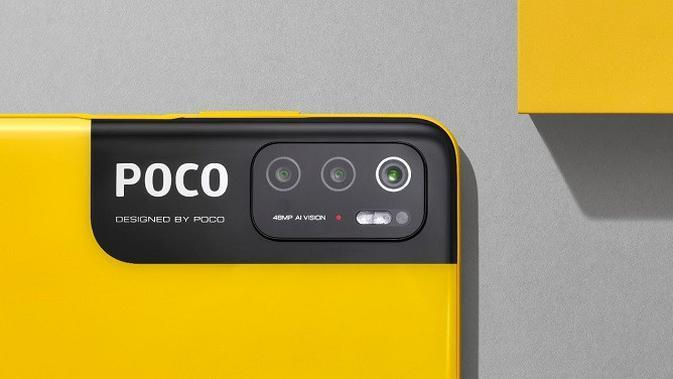The rear camera of the newly launched Poco M3 Pro 5G.  (St.)