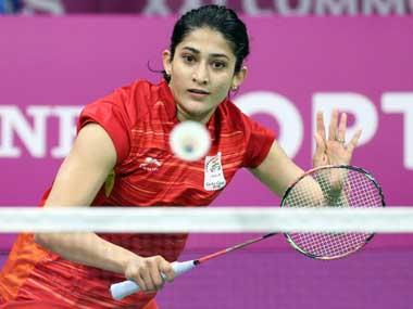 Ashwini Ponnappa hits the sweet spot