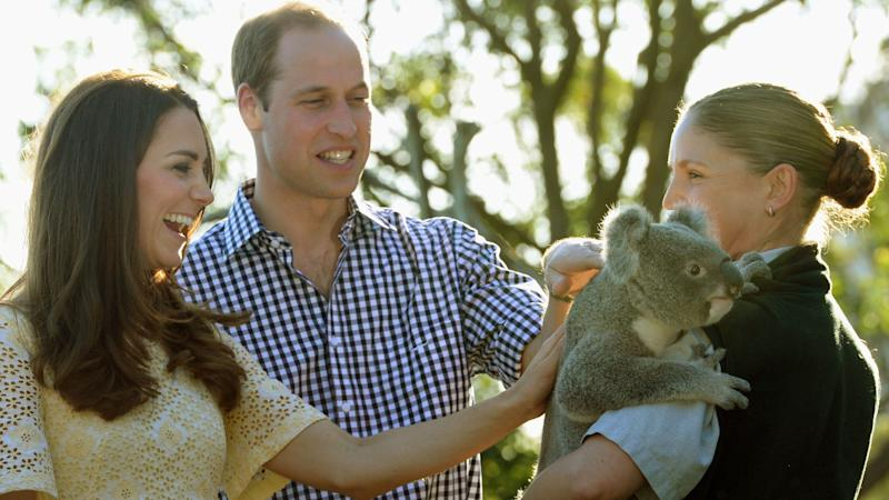William and Kate hear of 'devastating' impact of Australian wildfires