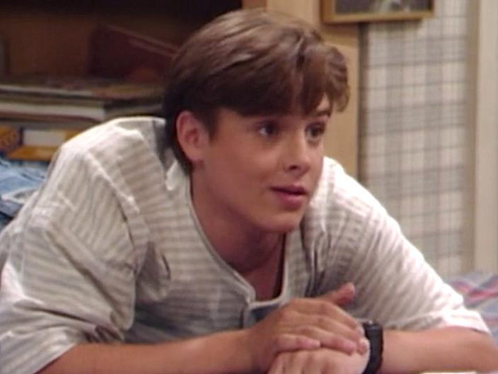 """Will Friedle on """"Boy Meets World."""""""