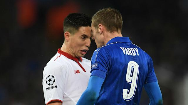 Sevilla midfielder Samir Nasri is wrong to call Jamie Vardy a cheat, according to Leicester City boss Craig Shakespeare.