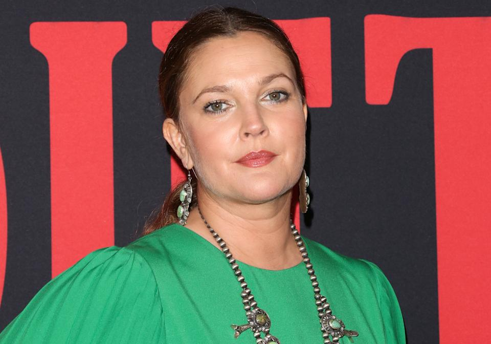 Drew Barrymore opened up about her tumultuous youth in an interview for CBS Sunday Morning. (Photo: Paul Archuleta/FilmMagic)