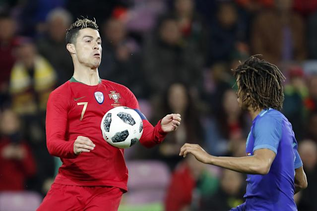 Cristiano Ronaldo and Portugal did not look good against the Netherlands. (Getty)