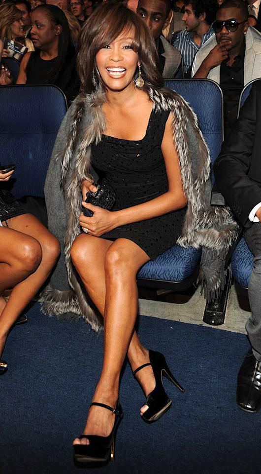 """""""Million Dollar Bill"""" diva Whitney Houston will have plenty to sing about on her 47th birthday, which is also on August 9. Kevin Mazur/<a href=""""http://www.wireimage.com"""" target=""""new"""">WireImage.com</a> - November 22, 2009"""