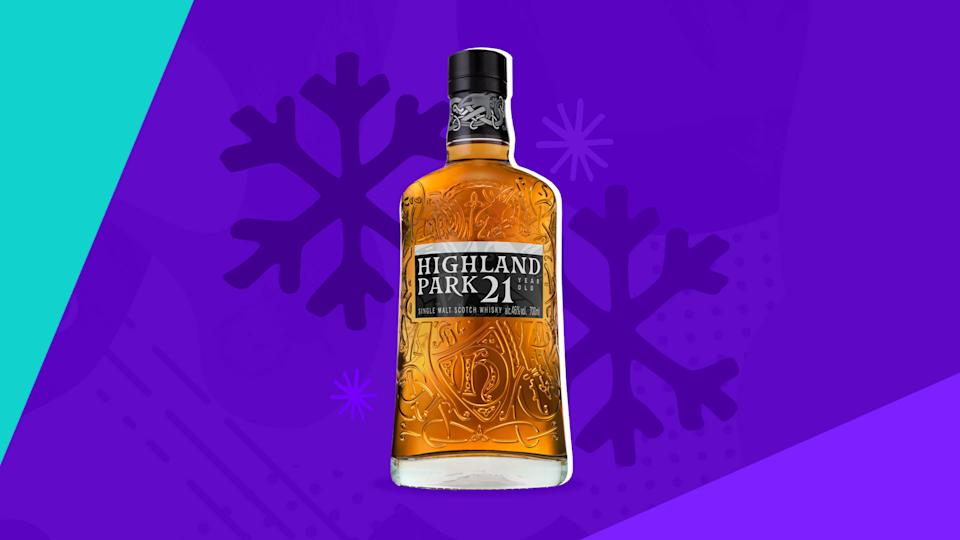 Highland Park 21 Year Old Single Malt Scotch is the pinnacle of whisky craftsmanship