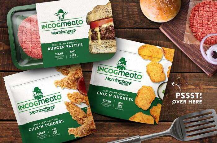 Incogmeato products.