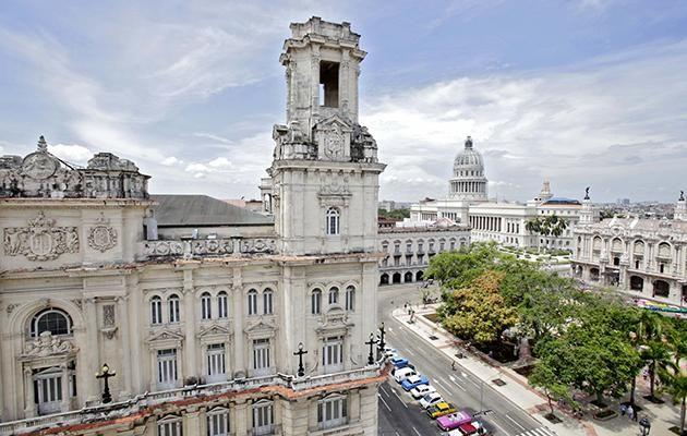 The hotel is situated right in the heart of Havana. Photo: Supplied