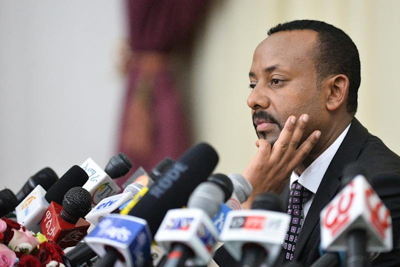 They arrived with guns, Ethiopia's prime minister ordered them to do push-ups