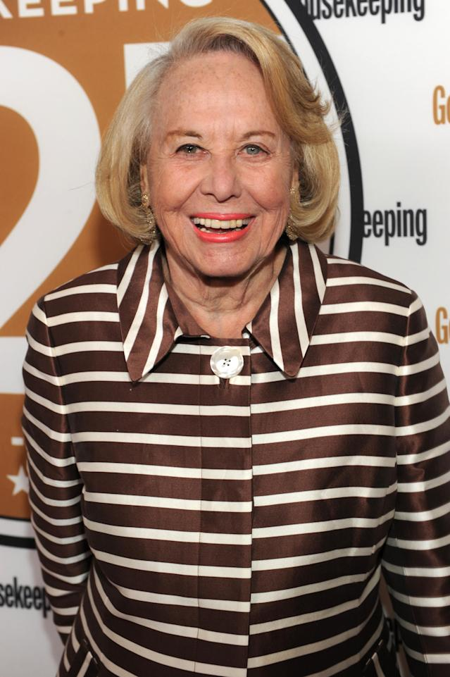 "<p>Known as ""The Grand Dame of the Dish,"" the famed gossip columnist died on Nov. 12 at age 94. (Photo: Kevin Mazur/WireImage/Getty Images) </p>"