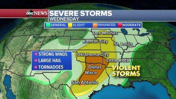Severe weather outbreak in South could mean more tornadoes