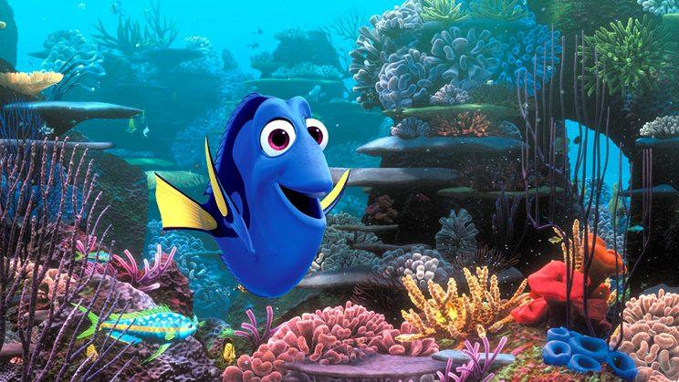 Dory sure has a lot to be thankful for. (Photo: Disney/Pixar)