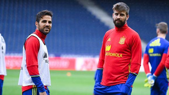 Spain Training Session & Press Conference - UEFA 2016 Training Camp