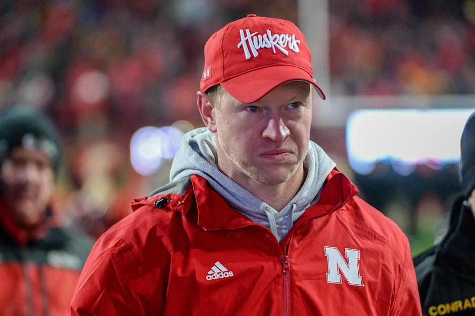 Nebraska's Scott Frost is one of many coaches angling to play this season. (Photo by Steven Branscombe/Getty Images)