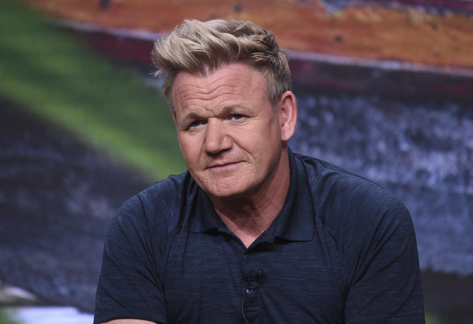 Chef Gordon Ramsay participates in National Geographic's