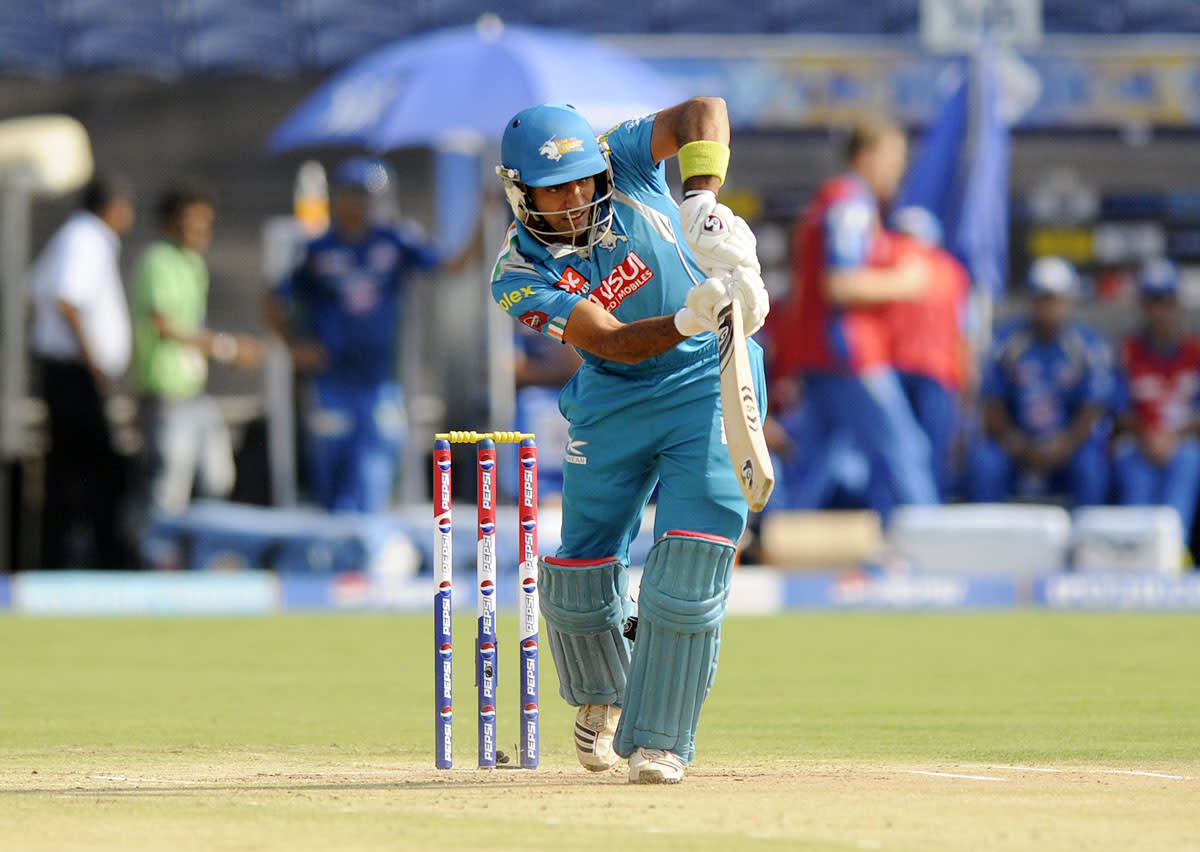 Robin Uthappa of Pune Warriors bats during match 58 of the Pepsi Indian Premier League ( IPL) 2013  between The Pune Warriors India and the Kolkata Knight Riders held at the Subrata Roy Sahara Stadium, Pune on the 11th May 2013. (BCCI)
