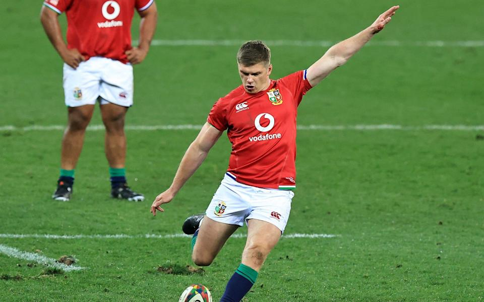England captain Owen Farrell has been dropped from the Lions matchday squad in a number of changes - GETTY IMAGES