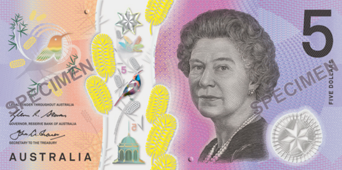 The $5 note was released to the public on September 1, 2016.