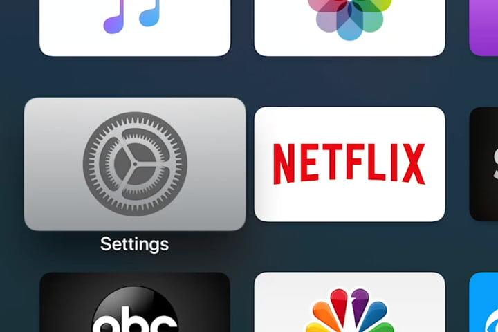 Apple TV Settings App