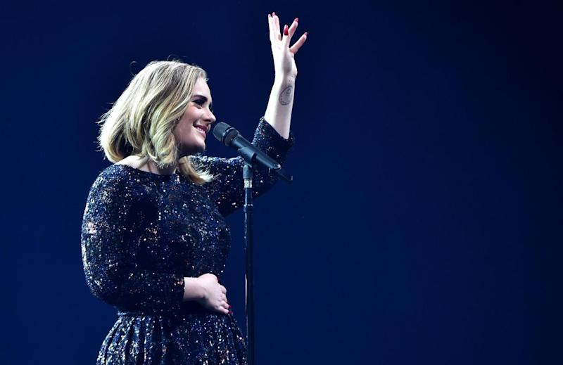 Adele performs at the O2 in 2016 (Getty Images)