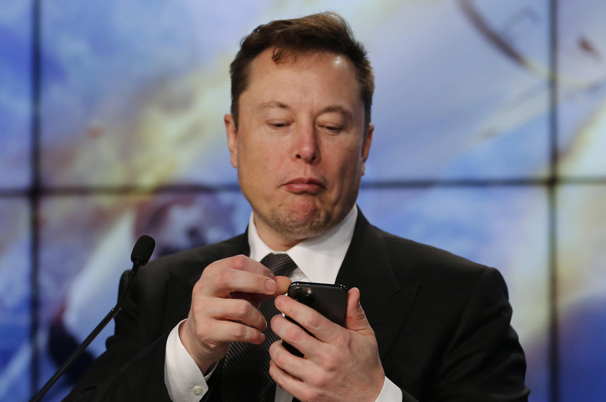 Elon Musk's frequent tweets about cryptocurrencies often move the price significantly. Photo: Joe Skipper/Reuters