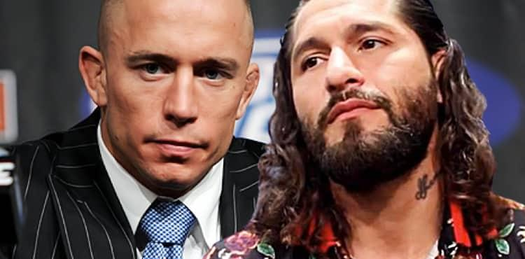 Georges St-Pierre and Jorge Masvidal