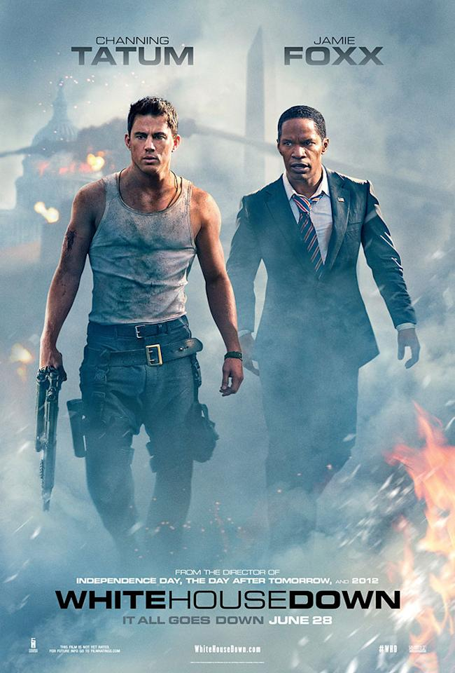 """Channing Tatum and Jamie Foxx star in Columbia Pictures' """"White House Down"""" - 2013"""
