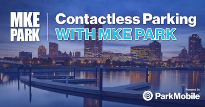 The recently upgraded MKE Park app, powered by ParkMobile, provides a safe and contactless parking payment option for people in Milwaukee. The app can be used in over 400 cities across the U.S., wherever ParkMobile is accepted.