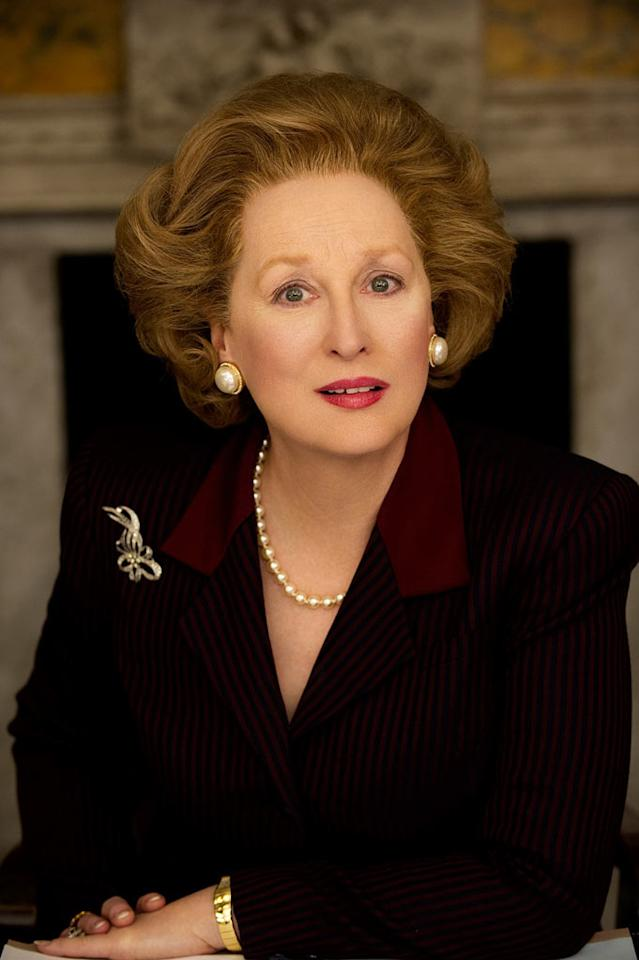 "<a href=""http://movies.yahoo.com/movie/contributor/1800018835"">Meryl Streep</a> in The Weinstein Company's <a href=""http://movies.yahoo.com/movie/1810196208/info"">The Iron Lady</a>"