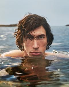 Adam Driver in the Hero campaign, photographed by Mario Sorrenti. - Credit: Image Courtesy of Burberry/Mario Sorrenti